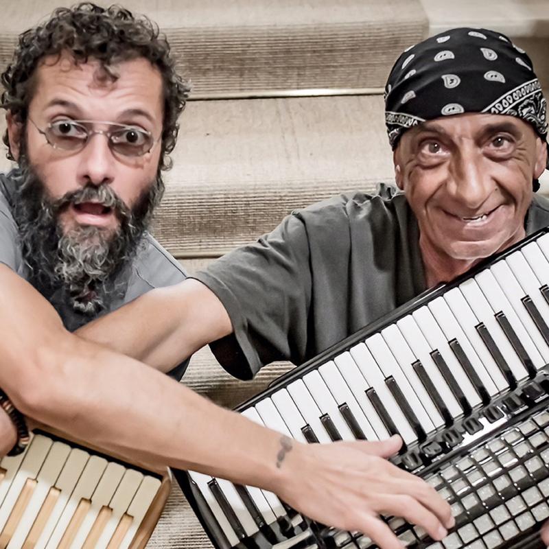 """SALIS & ZANCHINI DUO<br />""""Liberi!"""""""