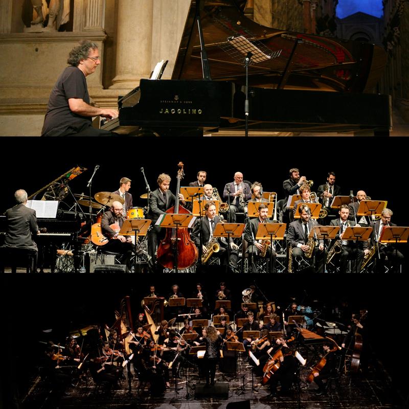 """URI CAINE / JAZZ IN'IT ORCHESTRA / ORCHESTRA DEI CASTELLI </br> Ciajkovskij & Ellington </br> """"The Nutcracker Suites"""""""