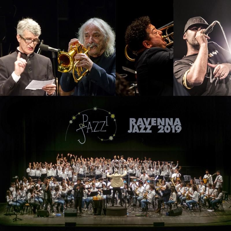 """""""Pazzi di Jazz"""" Young Project<br />diretti da Tommaso Vittorini, Mauro Ottolini & Alien Dee<br /><em>special guests</em> ENRICO RAVA, MAURO OTTOLINI & ALIEN DEE<br />""""Kind of Blue""""<br /><em>Omaggio a Miles Davis</em>"""