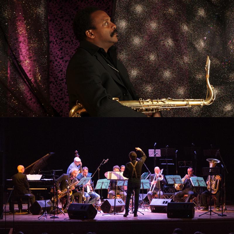 "LYDIAN SOUND ORCHESTRA<br />feat. DAVID MURRAY<br />direttore Riccardo Brazzale<br />""Train Smoke, Rain Steam""<br /><em>Musiche di Brazzale, Murray, Ellington, Metheny, Shepp, Nichols, Dolphy, Carla Bley</em>"
