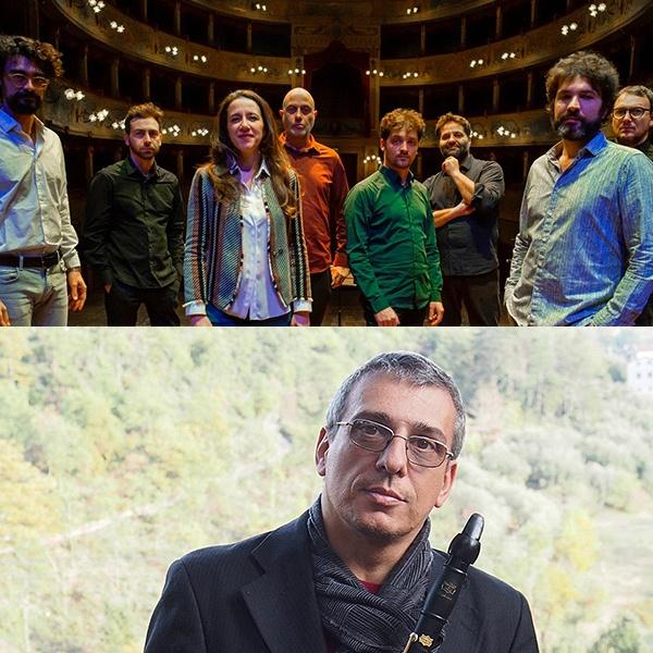 """ON TIME BAND + special guest GABRIELE MIRABASSI<br />""""Manacore""""<br /><em>La musica di Gianmaria Testa</em>"""