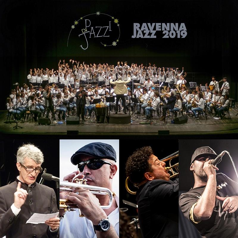 """""""Pazzi di Jazz"""" Young Project<br />ORCHESTRE DEI GIOVANI, DON MINZONI, CORI SWING KIDS & TEEN VOICES<br /> diretti da Tommaso Vittorini, Mauro Ottolini & Alien Dee<br /><em>special guests</em> FLAVIO BOLTRO, MAURO OTTOLINI & ALIEN DEE + Mecco Guidi<br />""""Kind of Blue""""<br /><em>Omaggio a Miles Davis</em>"""